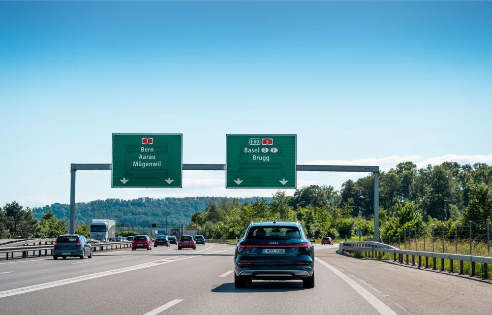 Tur de forță cu Audi e-tron: peste 1.600 de kilometri în 24 de ore - Poza 21