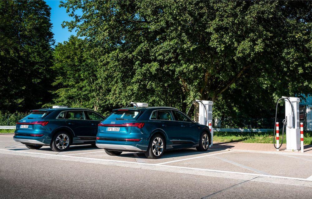 Tur de forță cu Audi e-tron: peste 1.600 de kilometri în 24 de ore - Poza 29