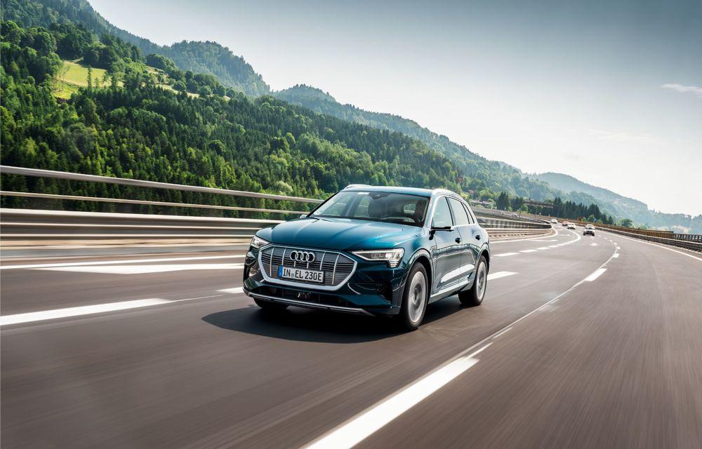 Tur de forță cu Audi e-tron: peste 1.600 de kilometri în 24 de ore - Poza 2