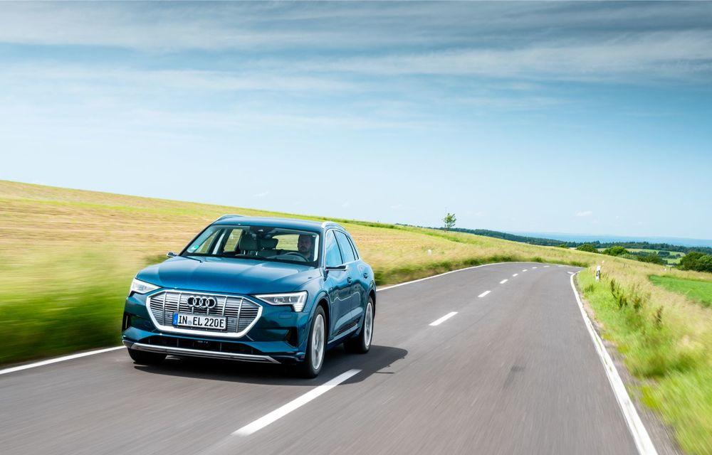 Tur de forță cu Audi e-tron: peste 1.600 de kilometri în 24 de ore - Poza 11