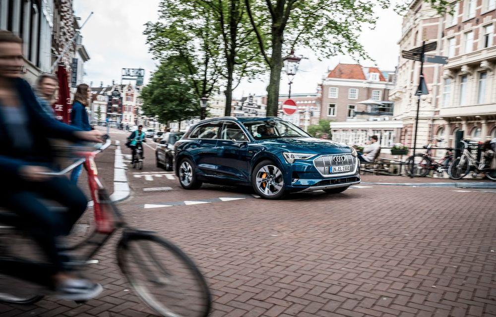 Tur de forță cu Audi e-tron: peste 1.600 de kilometri în 24 de ore - Poza 18