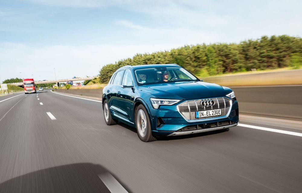 Tur de forță cu Audi e-tron: peste 1.600 de kilometri în 24 de ore - Poza 12