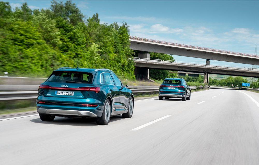 Tur de forță cu Audi e-tron: peste 1.600 de kilometri în 24 de ore - Poza 23