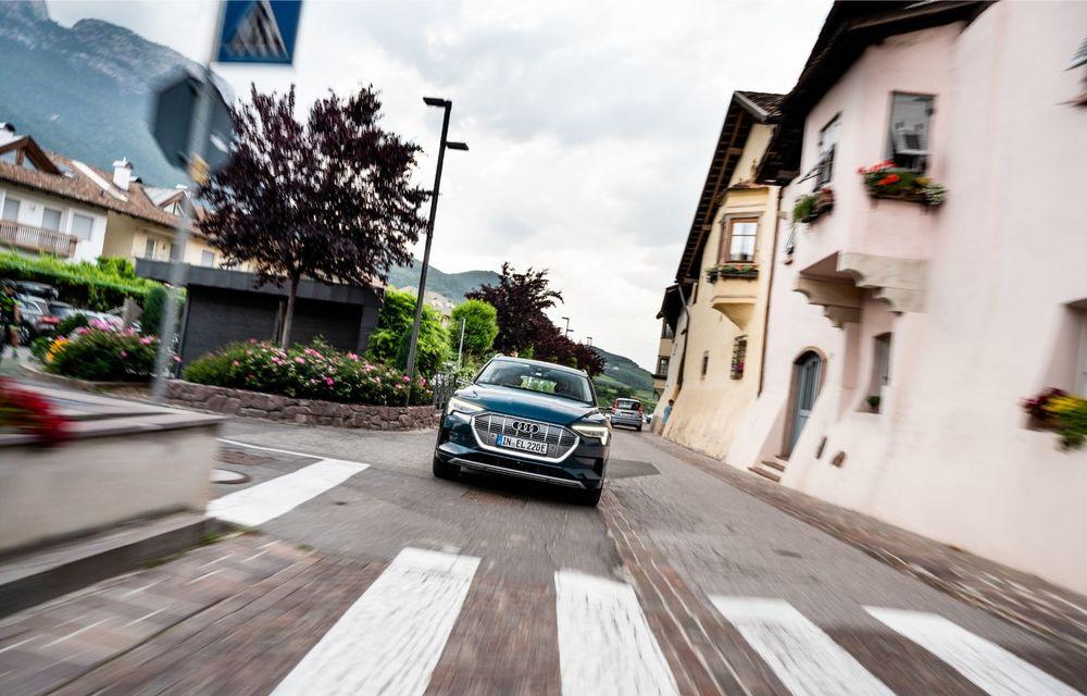 Tur de forță cu Audi e-tron: peste 1.600 de kilometri în 24 de ore - Poza 7