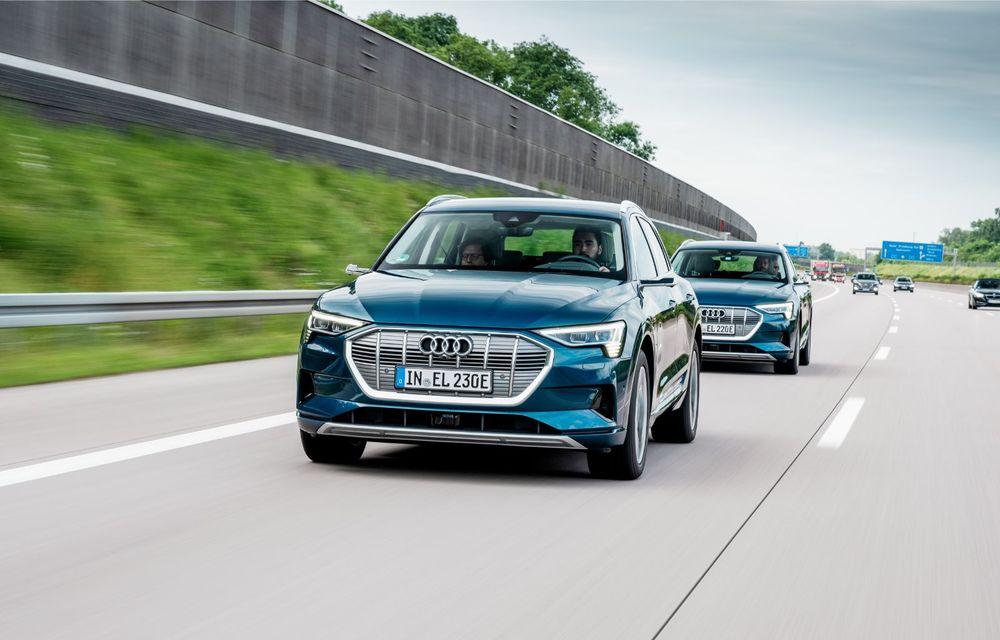 Tur de forță cu Audi e-tron: peste 1.600 de kilometri în 24 de ore - Poza 9
