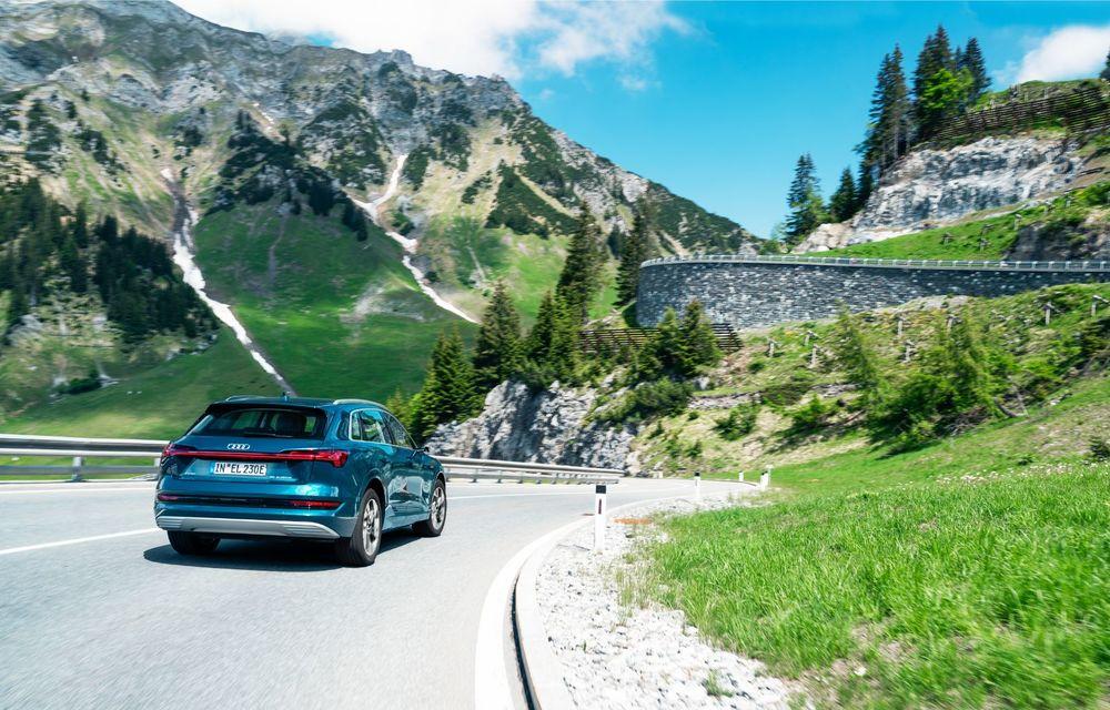 Tur de forță cu Audi e-tron: peste 1.600 de kilometri în 24 de ore - Poza 19