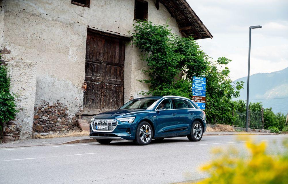 Tur de forță cu Audi e-tron: peste 1.600 de kilometri în 24 de ore - Poza 8