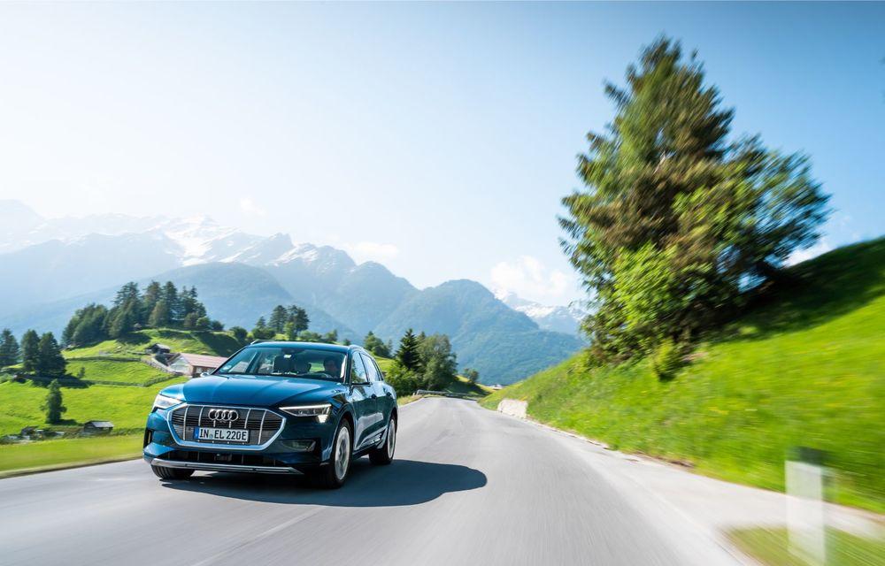 Tur de forță cu Audi e-tron: peste 1.600 de kilometri în 24 de ore - Poza 4