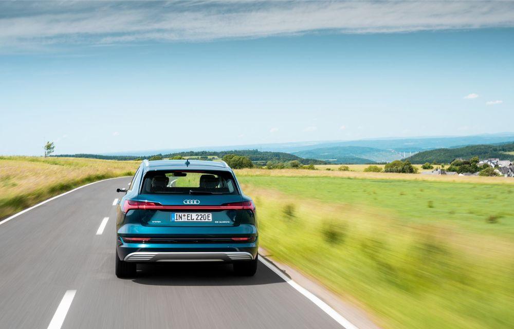 Tur de forță cu Audi e-tron: peste 1.600 de kilometri în 24 de ore - Poza 28