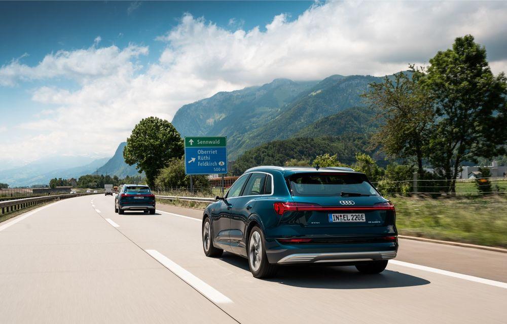 Tur de forță cu Audi e-tron: peste 1.600 de kilometri în 24 de ore - Poza 20