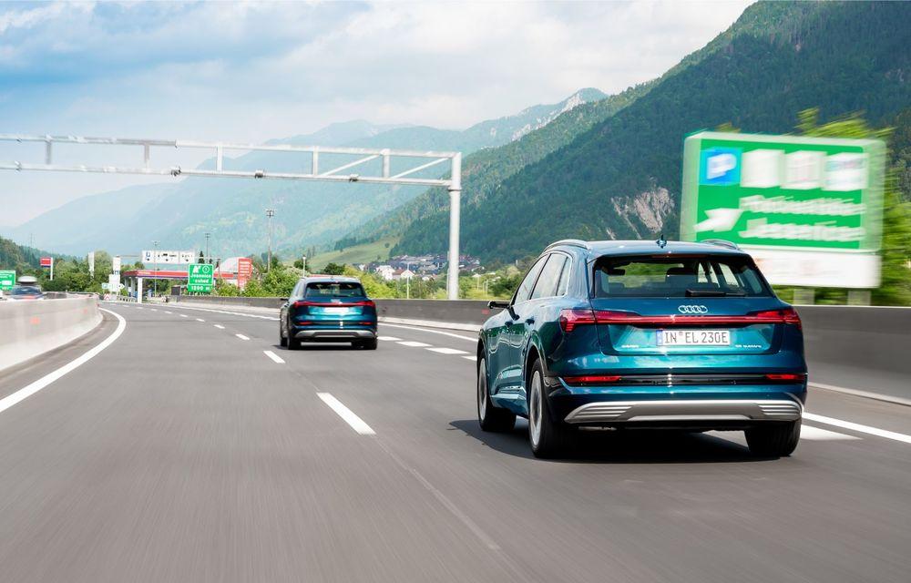 Tur de forță cu Audi e-tron: peste 1.600 de kilometri în 24 de ore - Poza 13