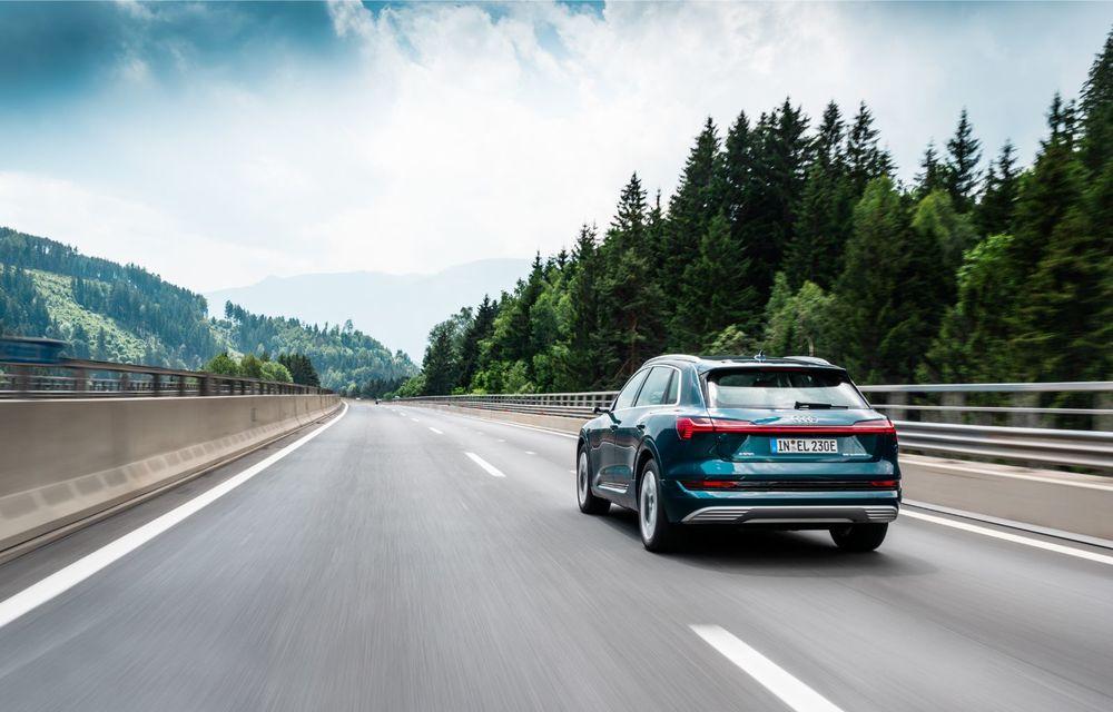 Tur de forță cu Audi e-tron: peste 1.600 de kilometri în 24 de ore - Poza 14