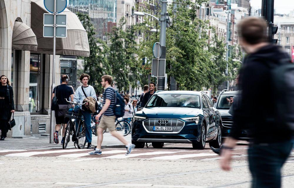 Tur de forță cu Audi e-tron: peste 1.600 de kilometri în 24 de ore - Poza 17