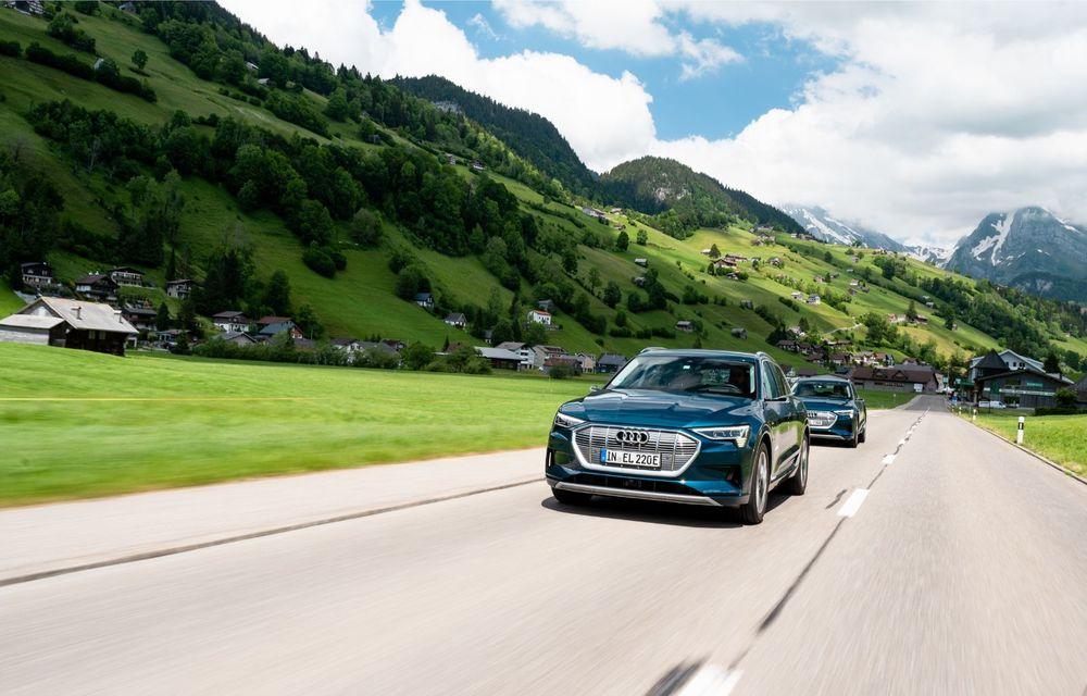 Tur de forță cu Audi e-tron: peste 1.600 de kilometri în 24 de ore - Poza 5