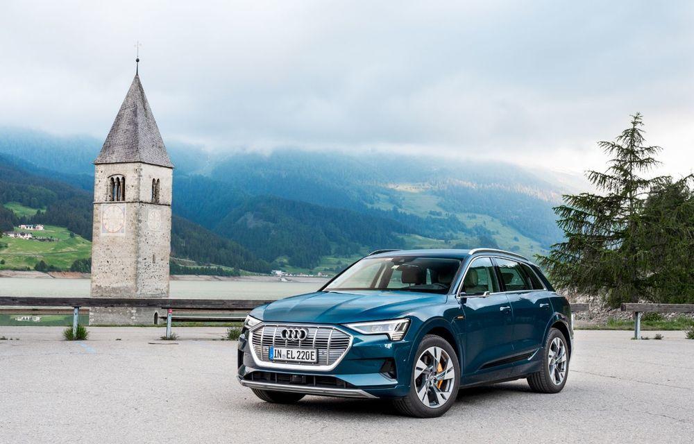 Tur de forță cu Audi e-tron: peste 1.600 de kilometri în 24 de ore - Poza 16