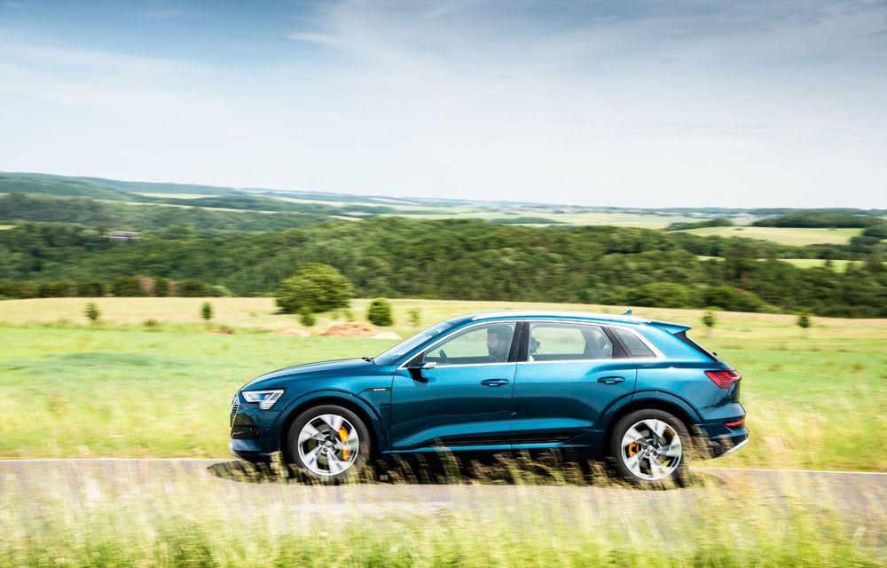 Tur de forță cu Audi e-tron: peste 1.600 de kilometri în 24 de ore - Poza 24
