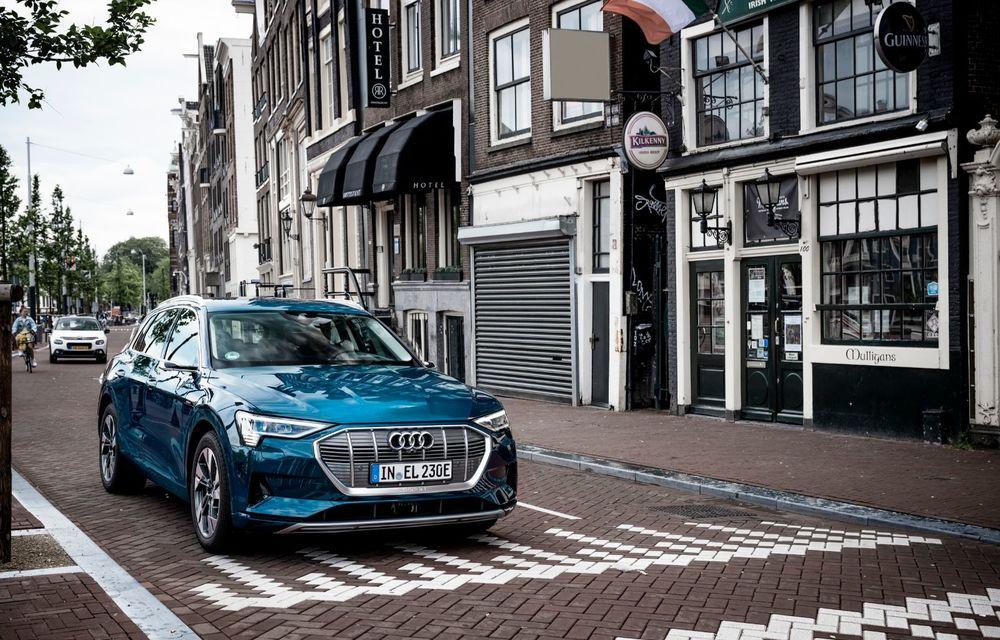 Tur de forță cu Audi e-tron: peste 1.600 de kilometri în 24 de ore - Poza 15