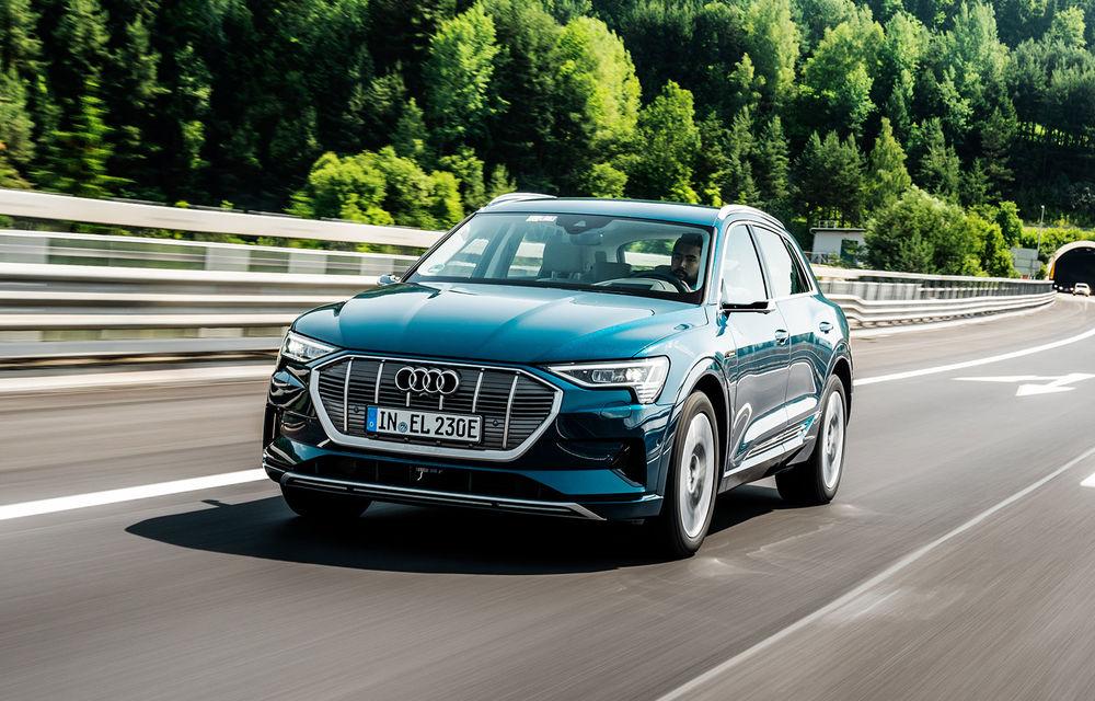 Tur de forță cu Audi e-tron: peste 1.600 de kilometri în 24 de ore - Poza 1
