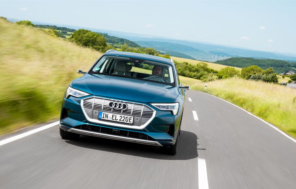 Tur de forță cu Audi e-tron: peste 1.600 de kilometri în 24 de ore - Poza 10