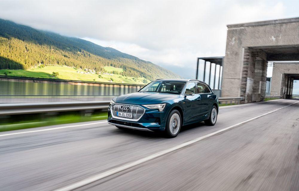 Tur de forță cu Audi e-tron: peste 1.600 de kilometri în 24 de ore - Poza 3