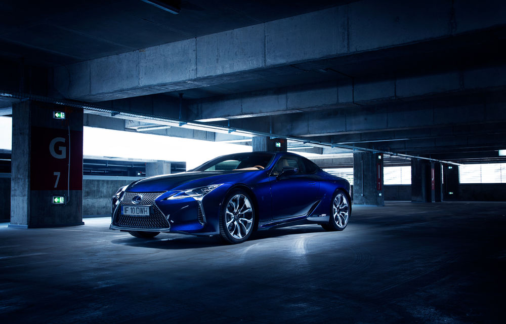 Test drive Lexus LC