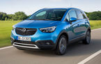 Noutăți în gama Opel Crossland X: motorul pe benzină de 1.2 itri și 130 CP primește cutie de viteze automată cu 6 trepte