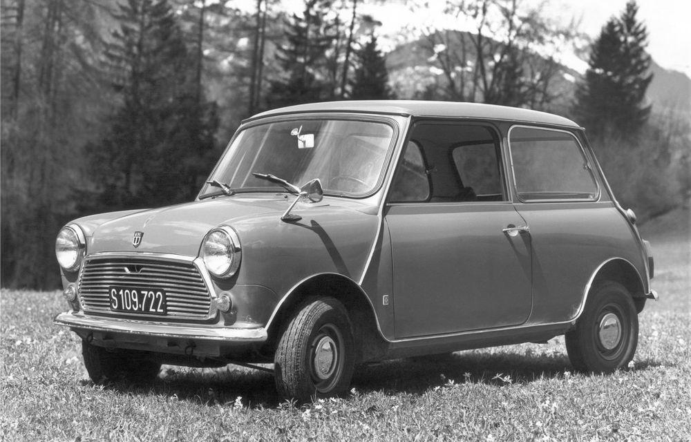 Mini împlinește 60 de ani: de la legendarele Morris Mini-Minor şi Austin Seven până la noul model electric Cooper SE - Poza 10
