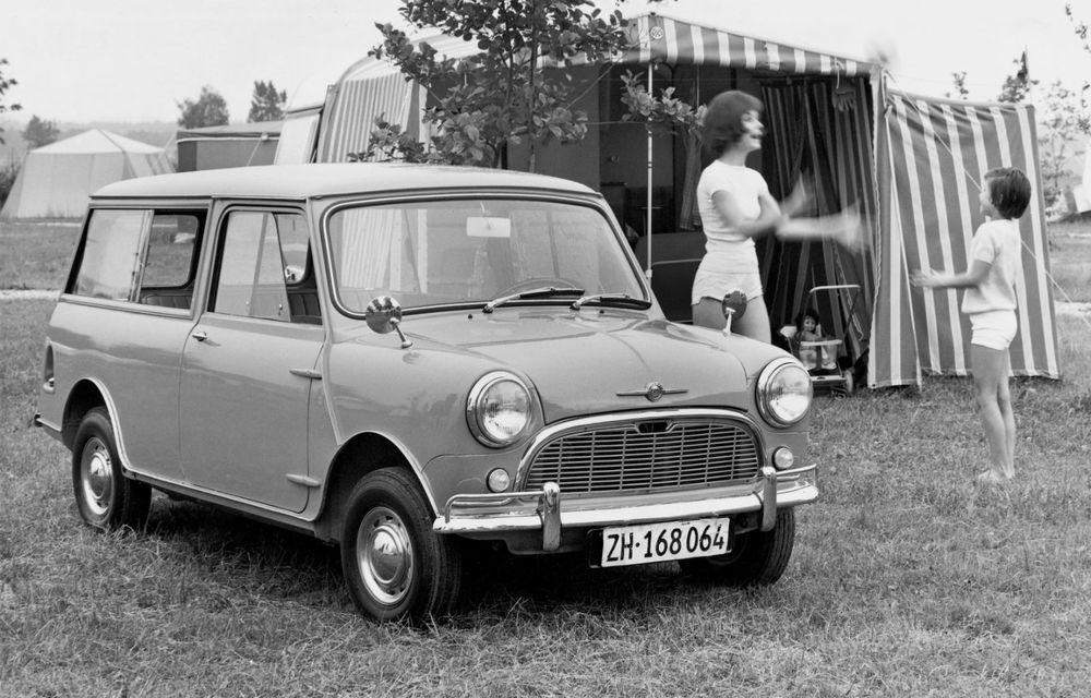 Mini împlinește 60 de ani: de la legendarele Morris Mini-Minor şi Austin Seven până la noul model electric Cooper SE - Poza 6