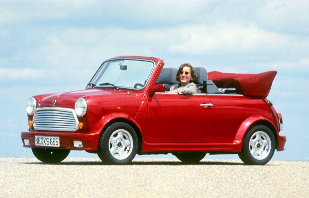Mini împlinește 60 de ani: de la legendarele Morris Mini-Minor şi Austin Seven până la noul model electric Cooper SE - Poza 12