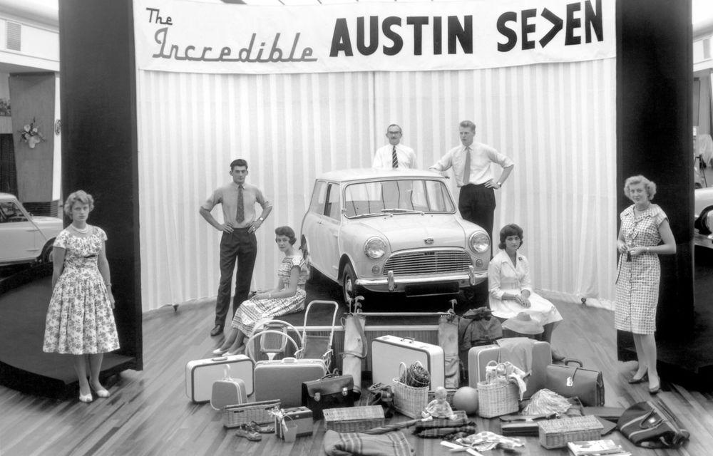 Mini împlinește 60 de ani: de la legendarele Morris Mini-Minor şi Austin Seven până la noul model electric Cooper SE - Poza 3