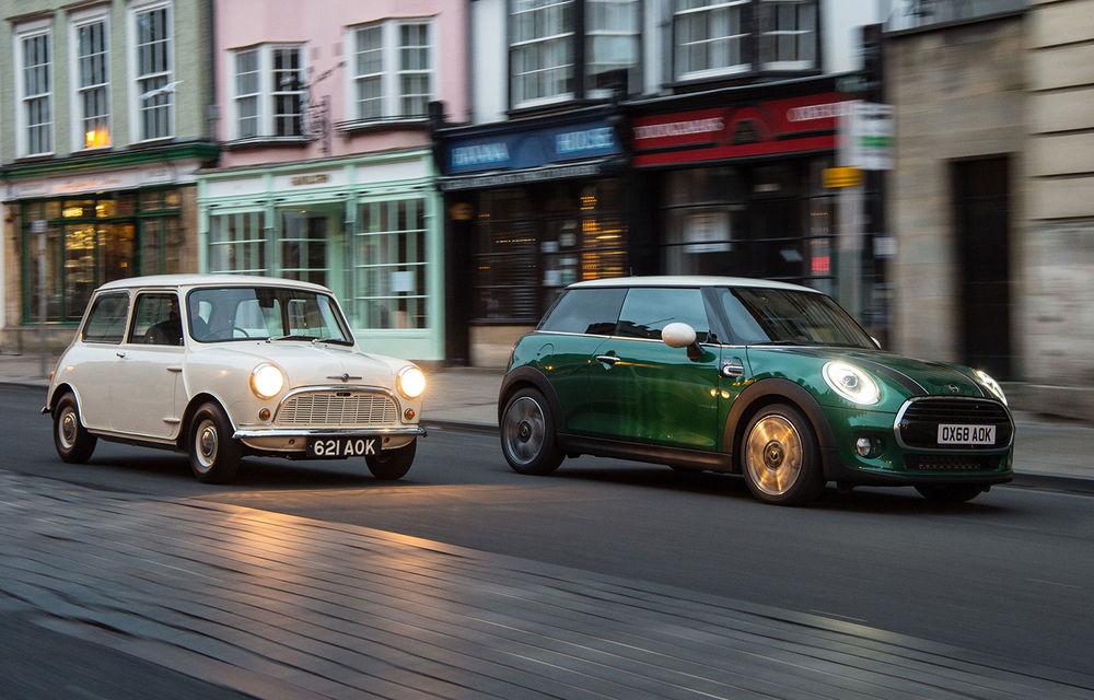 Mini împlinește 60 de ani: de la legendarele Morris Mini-Minor şi Austin Seven până la noul model electric Cooper SE - Poza 1