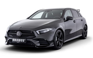 Îmbunătățiri din partea Brabus pentru Mercedes-AMG A35: Hot Hatch-ul nemților oferă 365 CP și accelerează de la 0 la 100 km/h în 4.4 secunde