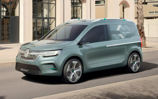 Detalii despre viitoarea generație Renault Kangoo: utilitara va prelua motoare de la Clio