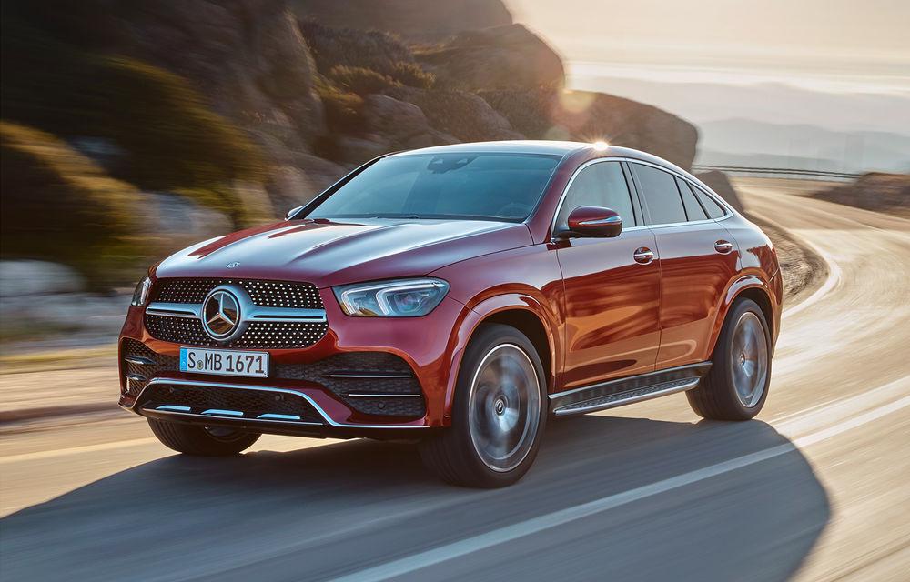 Mercedes-Benz a prezentat noul GLE Coupe: design îmbunătățit, un interior modern și versiune AMG cu 435 CP - Poza 1