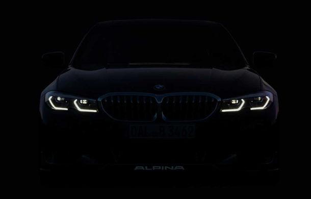 Prima imagine teaser cu viitorul Alpina B3 Touring: modelul va fi prezentat la Frankfurt - Poza 1