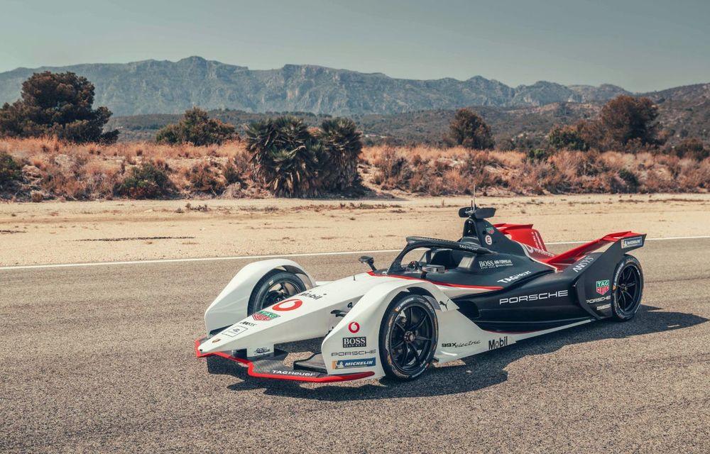 Porsche a prezentat noul monopost de Formula E 99X Electric: nemții vor debuta în competiția de electrice în sezonul 2019-2020 - Poza 2
