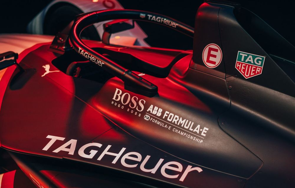 Porsche a prezentat noul monopost de Formula E 99X Electric: nemții vor debuta în competiția de electrice în sezonul 2019-2020 - Poza 16