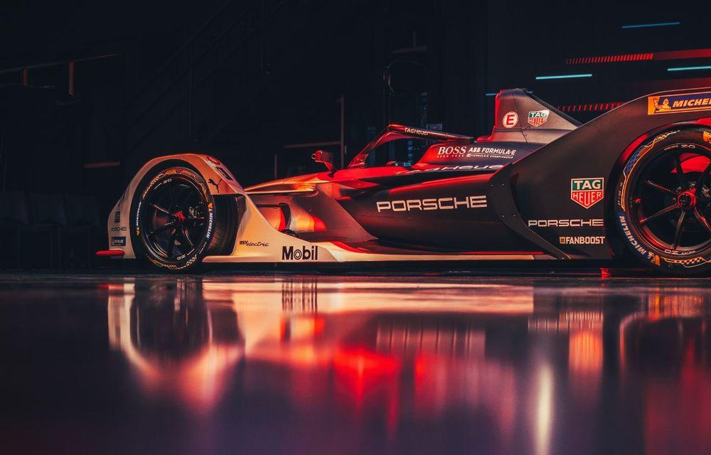 Porsche a prezentat noul monopost de Formula E 99X Electric: nemții vor debuta în competiția de electrice în sezonul 2019-2020 - Poza 14