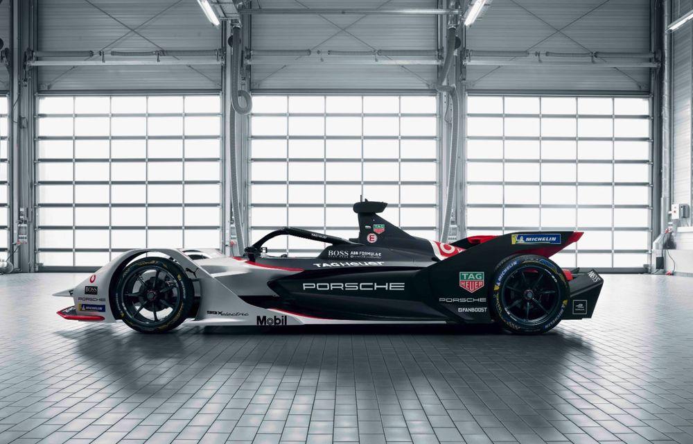 Porsche a prezentat noul monopost de Formula E 99X Electric: nemții vor debuta în competiția de electrice în sezonul 2019-2020 - Poza 12