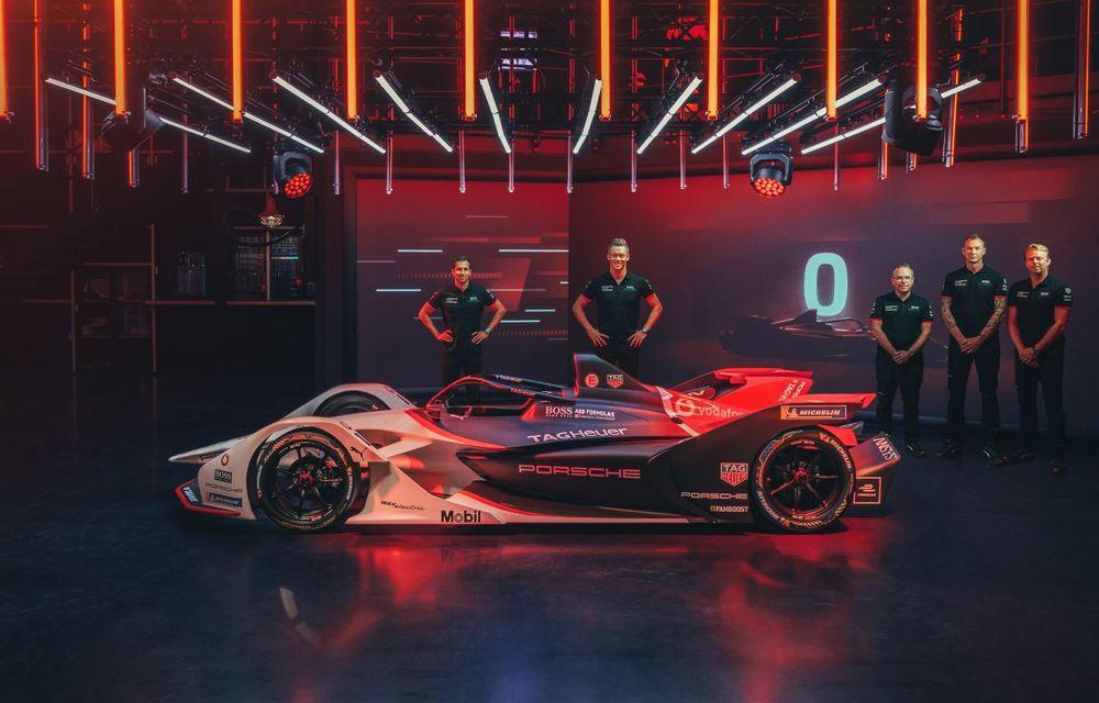 Porsche a prezentat noul monopost de Formula E 99X Electric: nemții vor debuta în competiția de electrice în sezonul 2019-2020 - Poza 15