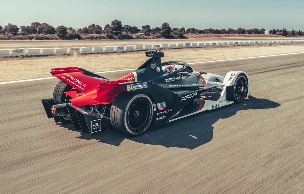 Porsche a prezentat noul monopost de Formula E 99X Electric: nemții vor debuta în competiția de electrice în sezonul 2019-2020 - Poza 6
