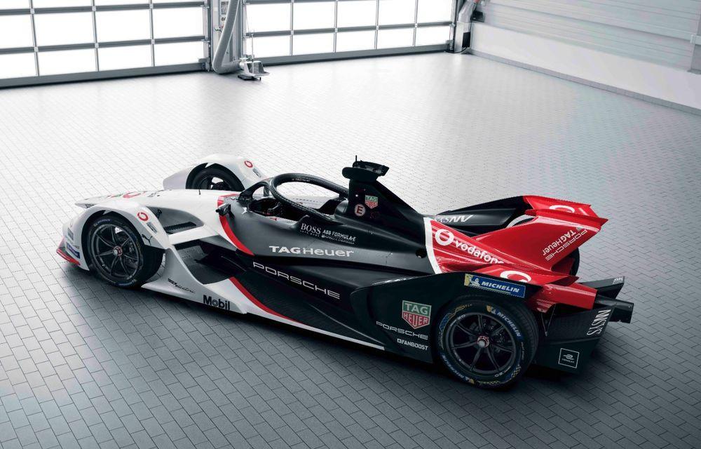 Porsche a prezentat noul monopost de Formula E 99X Electric: nemții vor debuta în competiția de electrice în sezonul 2019-2020 - Poza 10