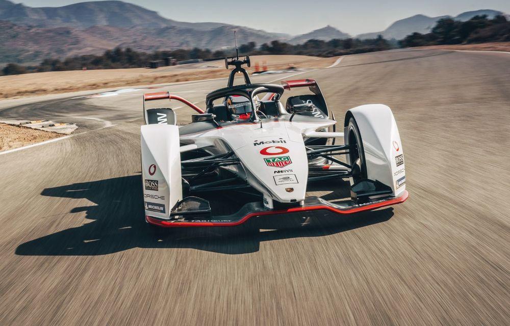 Porsche a prezentat noul monopost de Formula E 99X Electric: nemții vor debuta în competiția de electrice în sezonul 2019-2020 - Poza 9