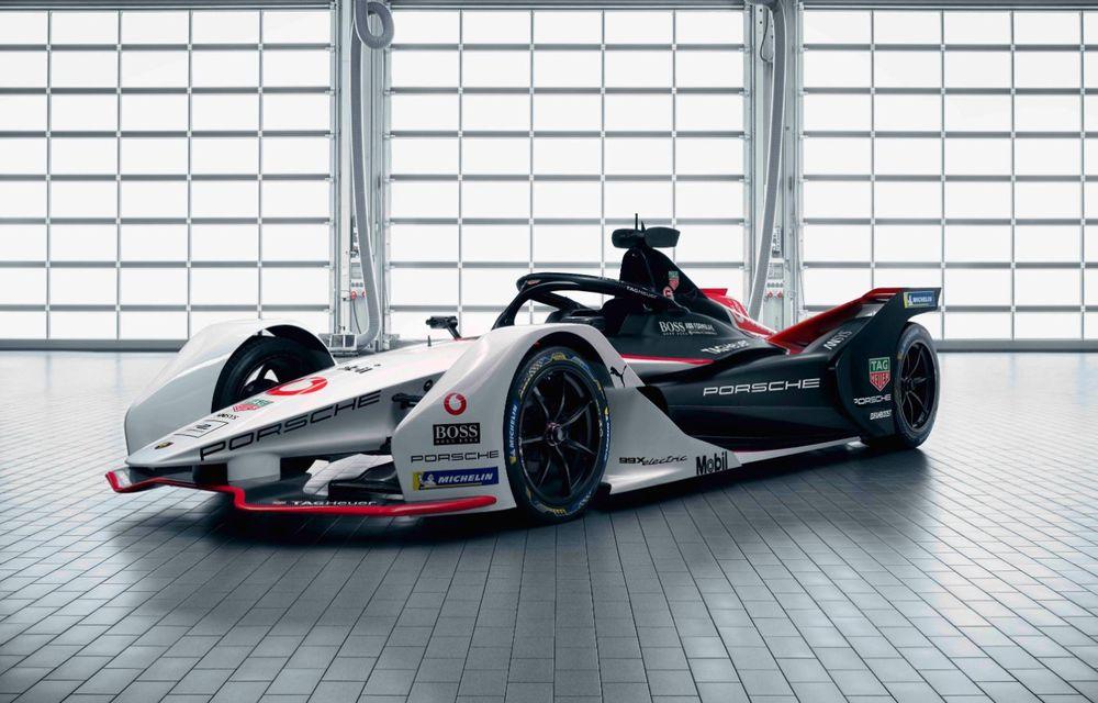 Porsche a prezentat noul monopost de Formula E 99X Electric: nemții vor debuta în competiția de electrice în sezonul 2019-2020 - Poza 11