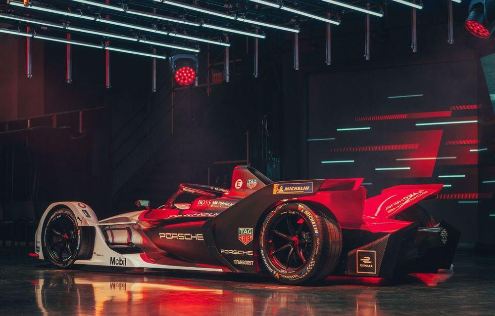 Porsche a prezentat noul monopost de Formula E 99X Electric: nemții vor debuta în competiția de electrice în sezonul 2019-2020 - Poza 13