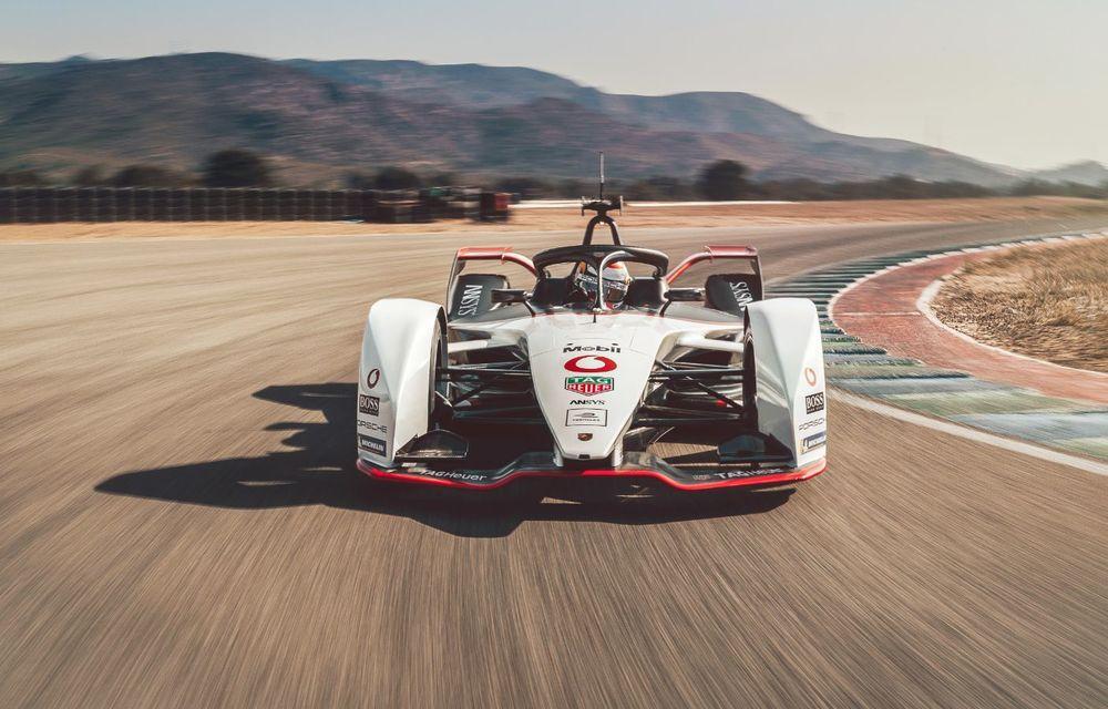 Porsche a prezentat noul monopost de Formula E 99X Electric: nemții vor debuta în competiția de electrice în sezonul 2019-2020 - Poza 7