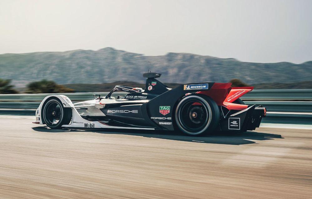 Porsche a prezentat noul monopost de Formula E 99X Electric: nemții vor debuta în competiția de electrice în sezonul 2019-2020 - Poza 8