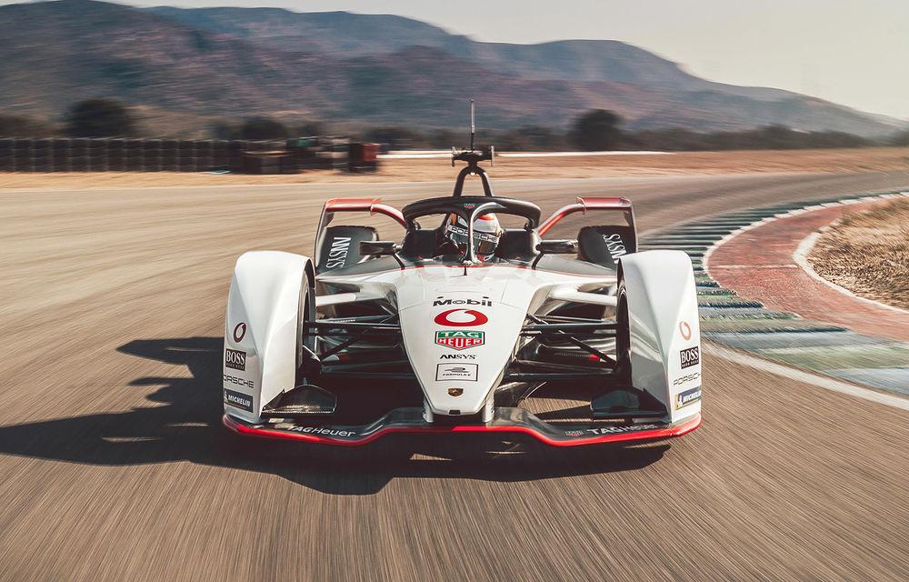 Porsche a prezentat noul monopost de Formula E 99X Electric: nemții vor debuta în competiția de electrice în sezonul 2019-2020 - Poza 1