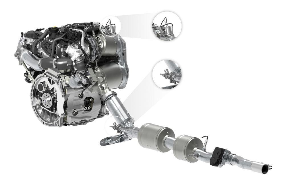 Volkswagen introduce un sistem cu injecție dublă de AdBlue pentru a reduce emisiile de oxid de azot cu 80%: Passat și Golf 8, primele modele care îl folosesc - Poza 1