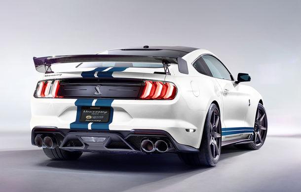 Pachete de performanță pentru Shelby GT500: până la 1.200 CP mulțumită americanilor de la Hennessey - Poza 2